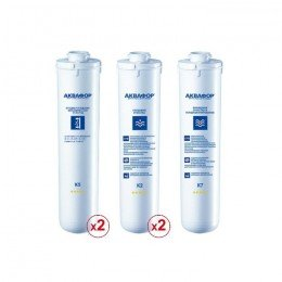 Комплект сменных модулей для Аквафор ОСМО-Кристалл 100 исп.4 на год (без мембраны)
